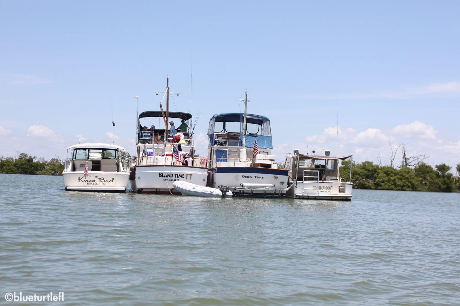 image of 4 boats