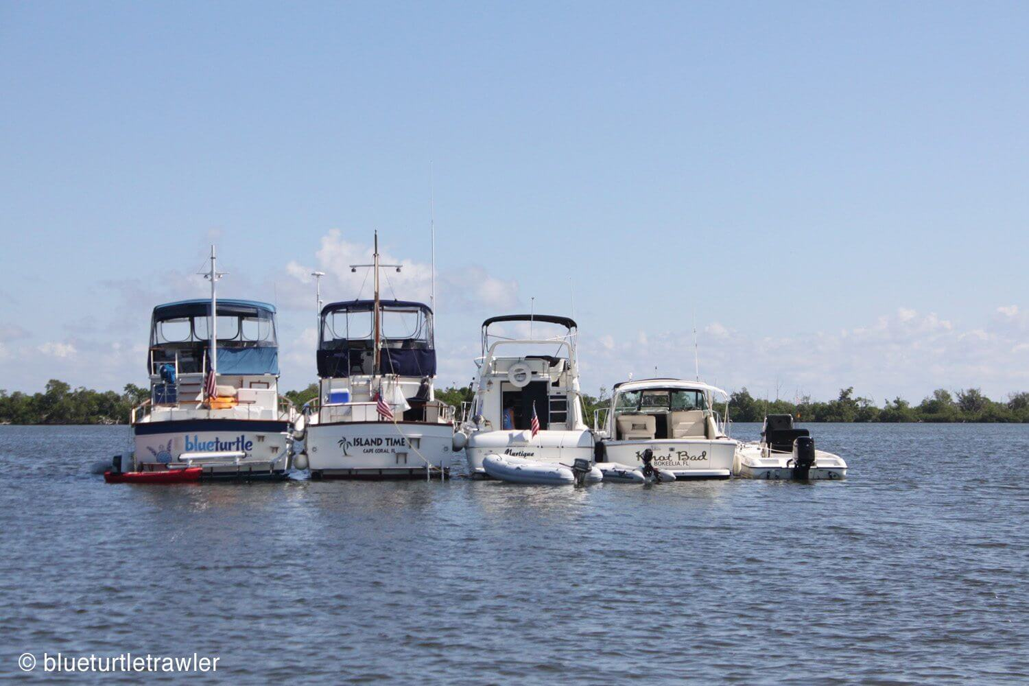 Our Labor Day weekend flotilla