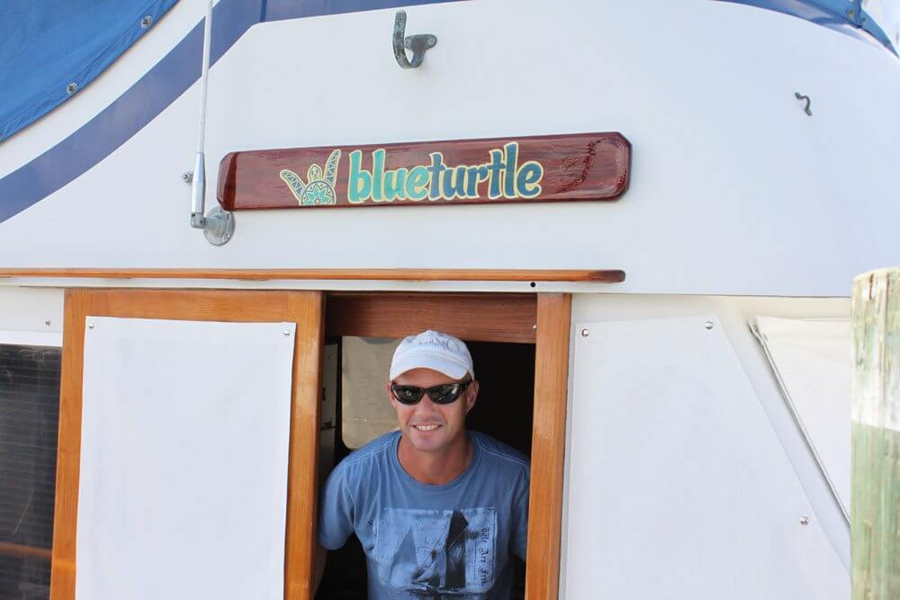 Blue Turtle name boards