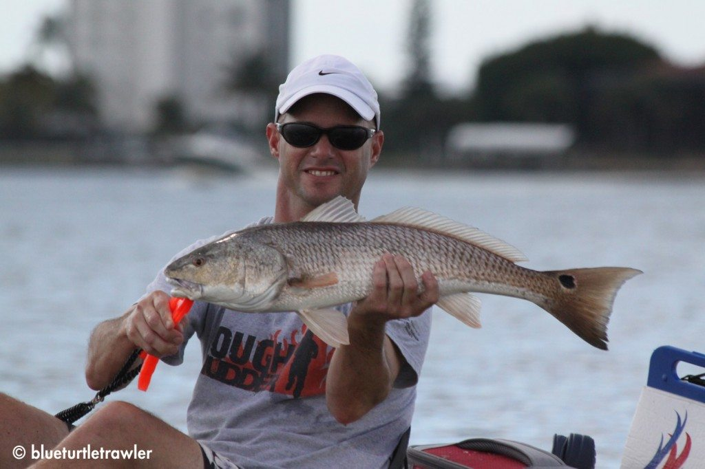A nice redfish caught by Randy