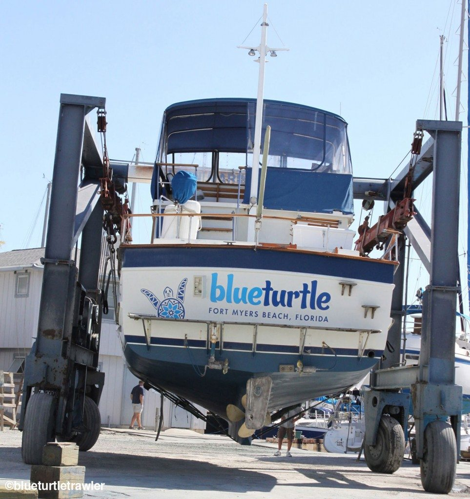 Blue Turtle needed an extender for the lift