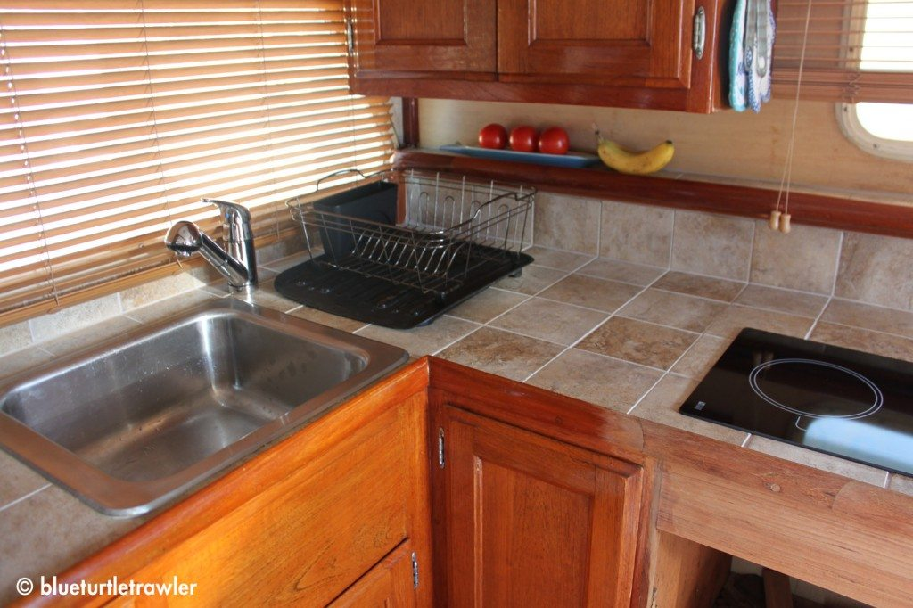 AFTER: My refinished galley