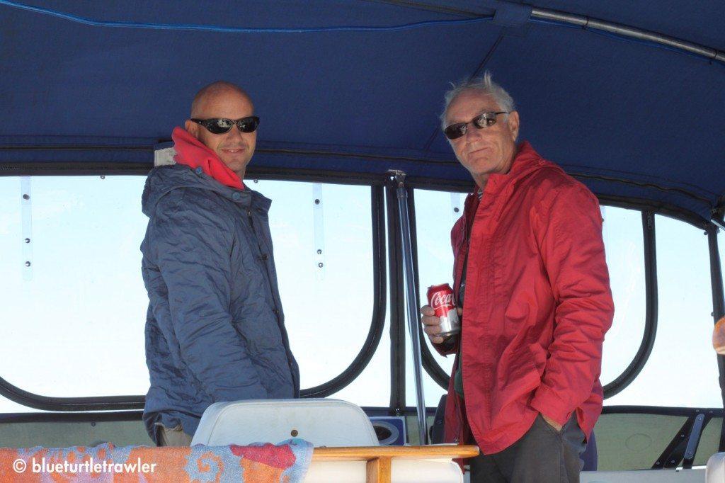 Randy and John (his dad)