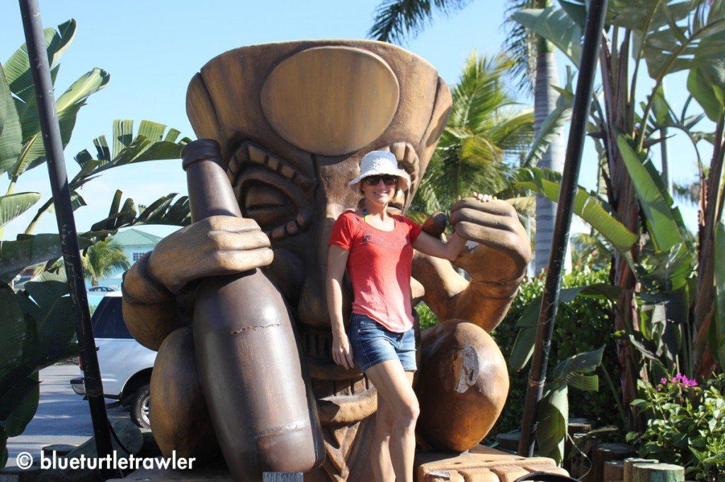 Me with Tiki at Yukatan