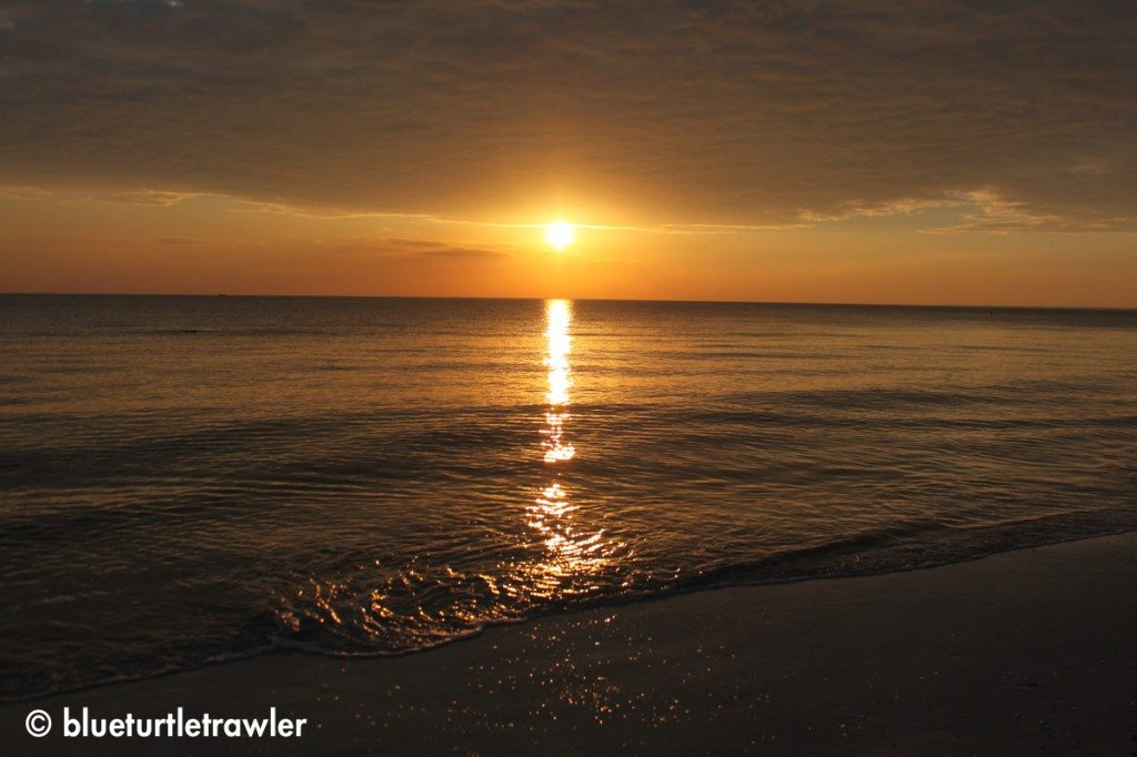 Sunset, Saturday, January 5, 2013