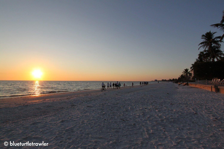 Sunset on Fort Myers Beach