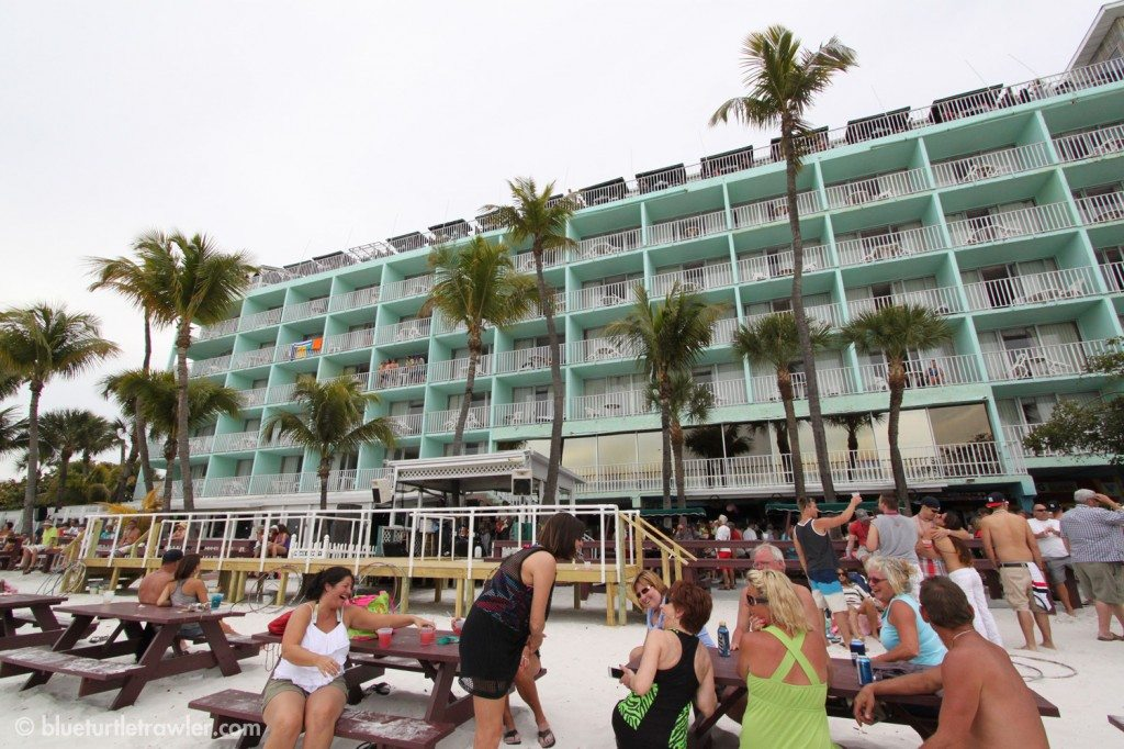 The infamous green building of the Lani Kai