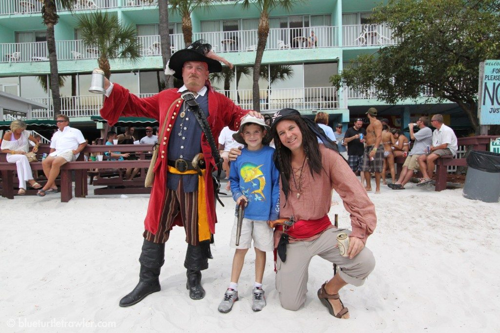 Even at the Lani Kai, there's pirates