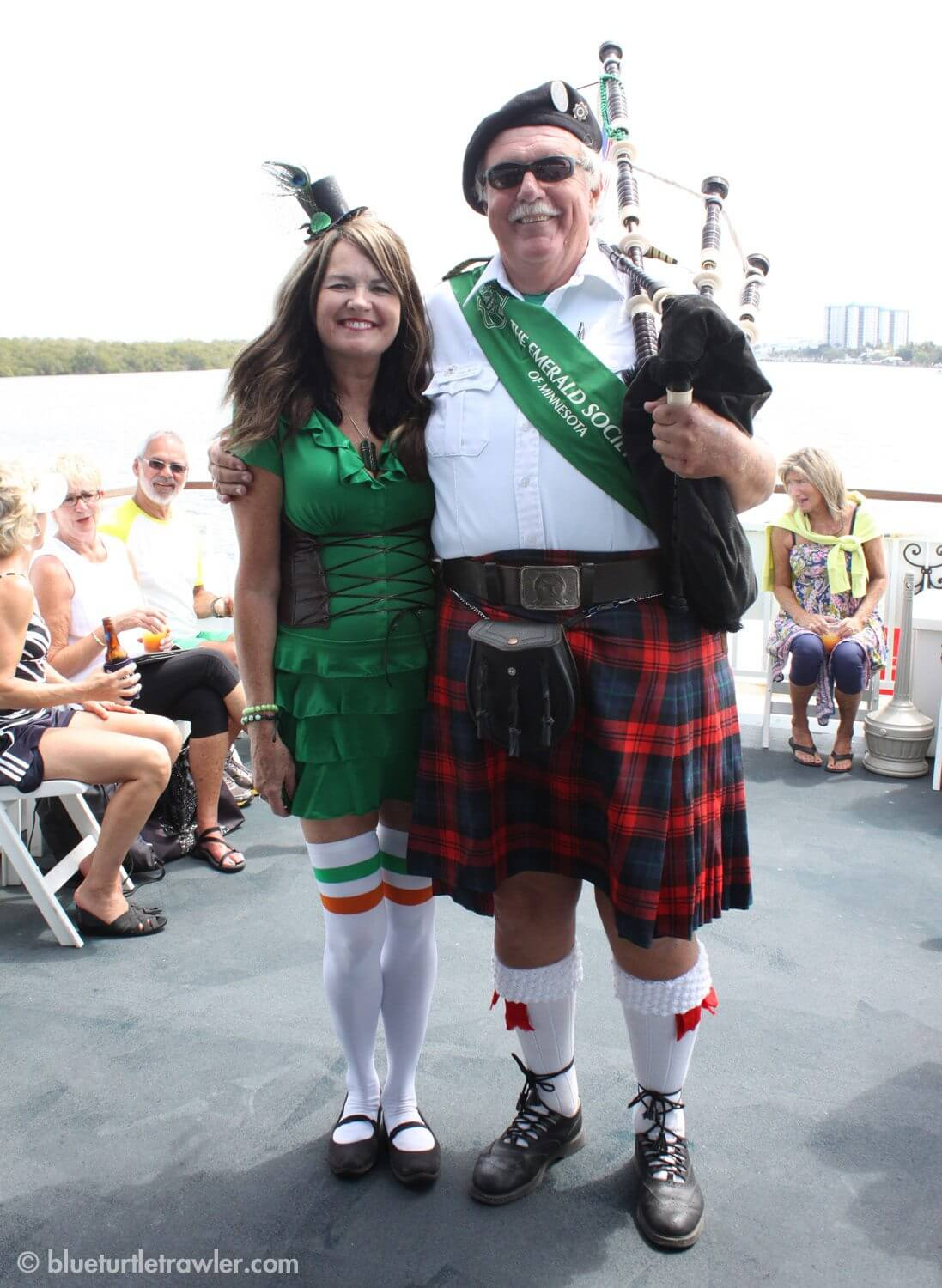 St. Paddy's Day on Fort Myers Beach