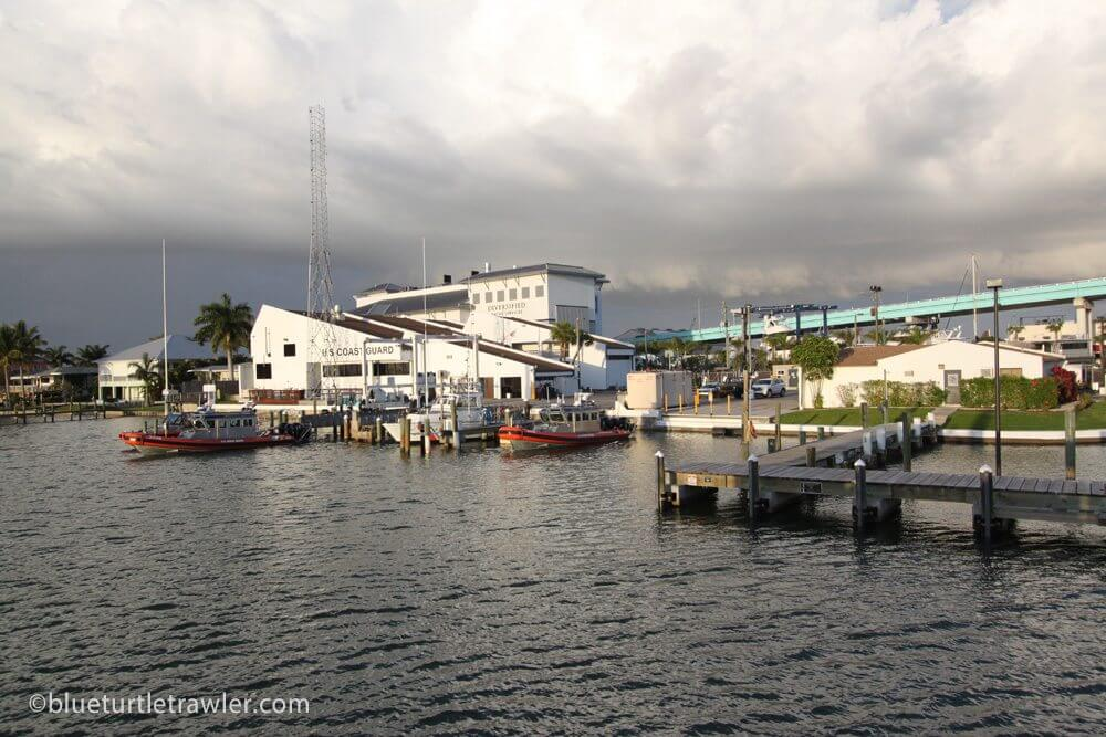 View of the Coast Guard Station