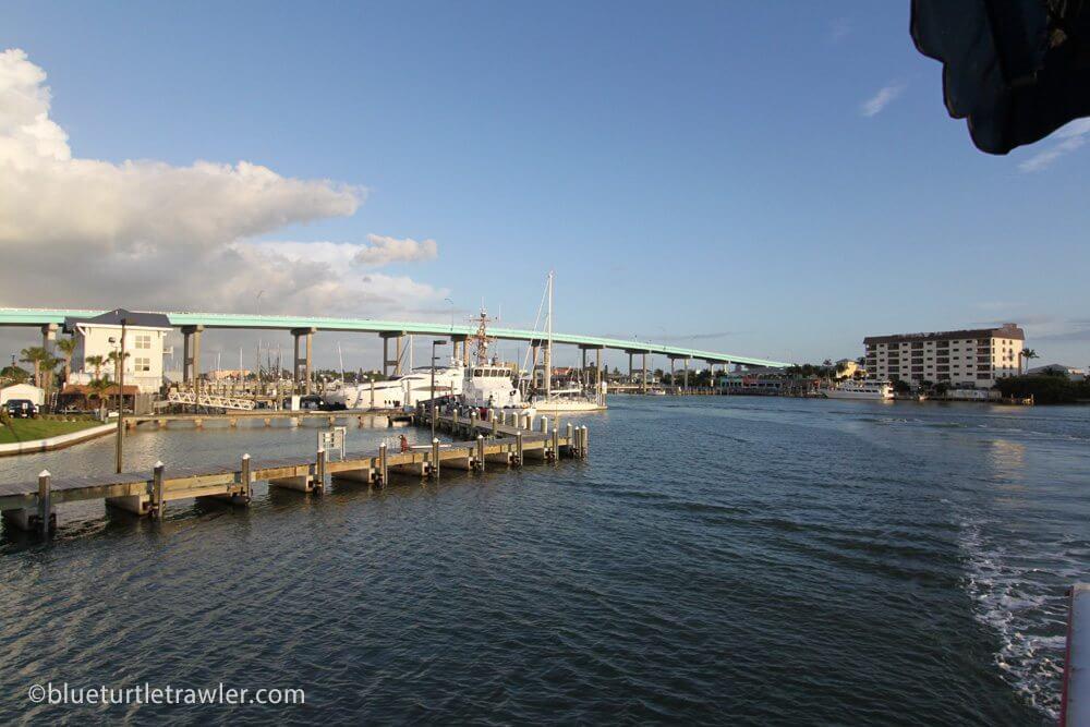 Scenic view of the Mantanzas Bridge