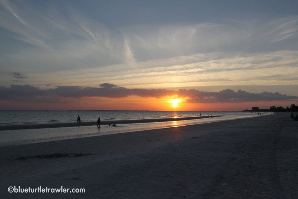 Saturday's beautiful sunset