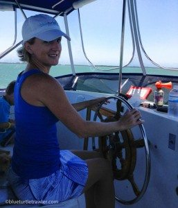 This is me taking the helm for about 5 minutes