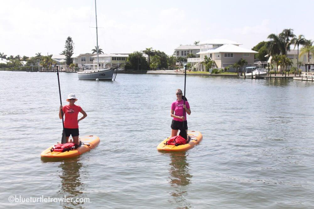 Stand Up Paddleboarding at Hell Pekney Bay