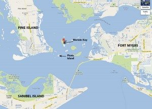 Map of Merwin Key (Click to enlarge)