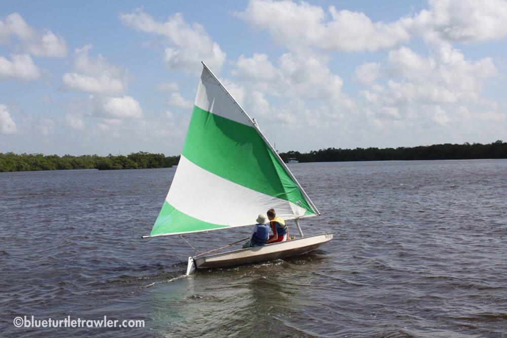 Balancing the sails