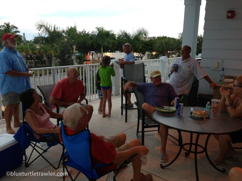 Labor Day pool party at Snook Bight