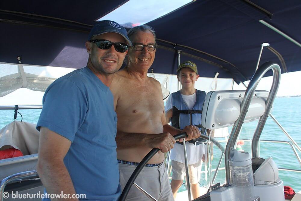Randy, Tim and Corey