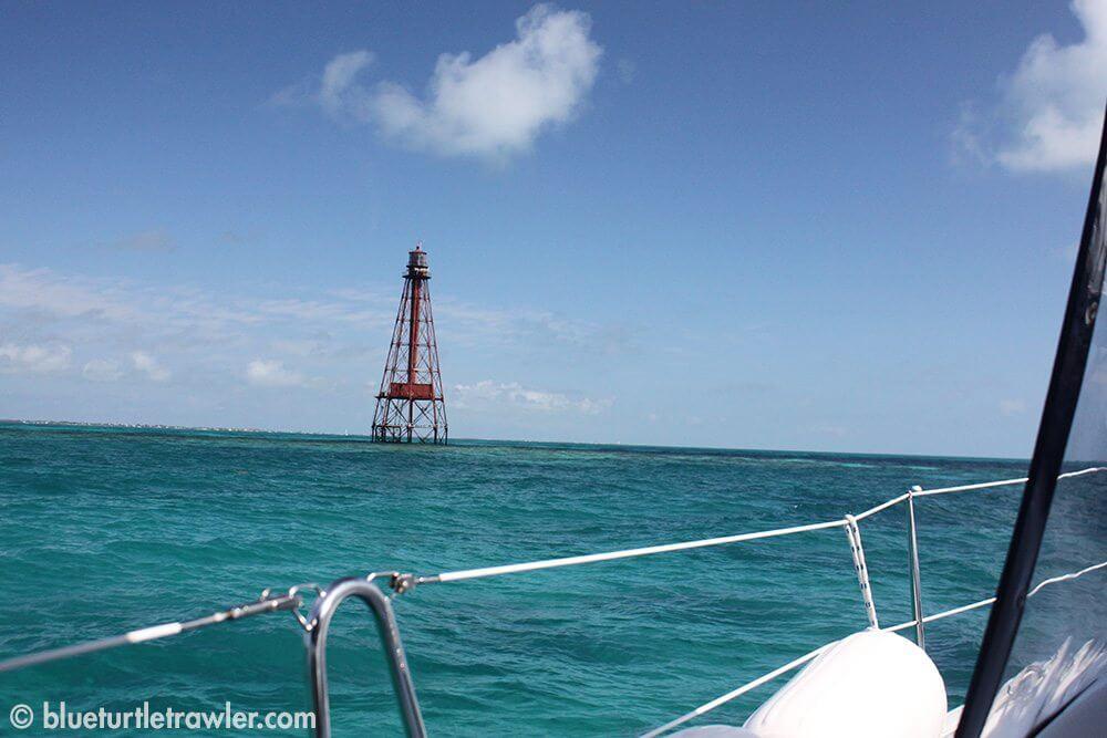 At Sombrero Reef
