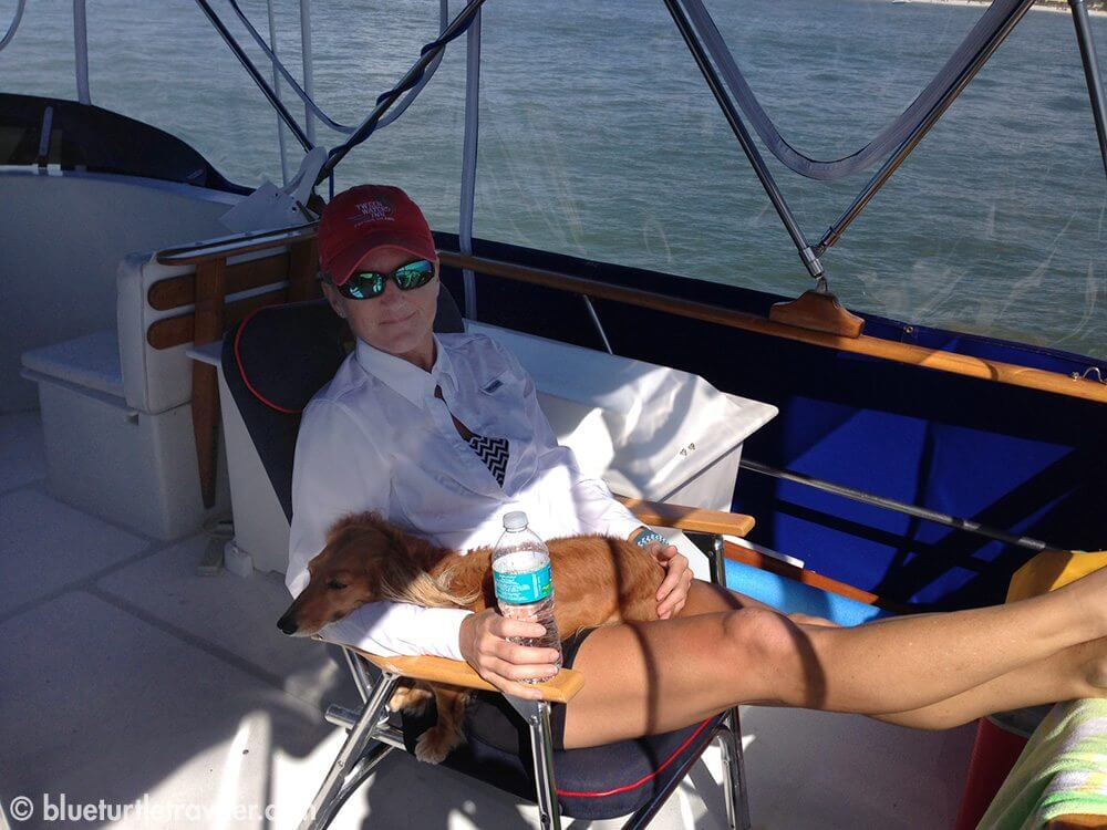 Ahhh, the good life...heading back home to Snook Bight