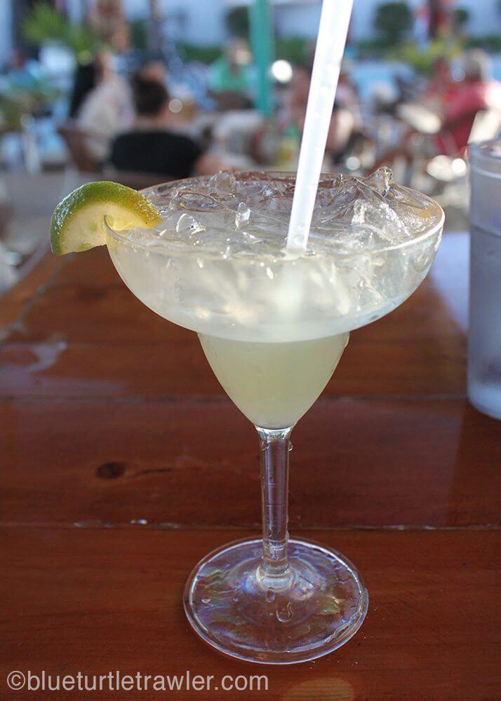 Great margarita's at La Olas