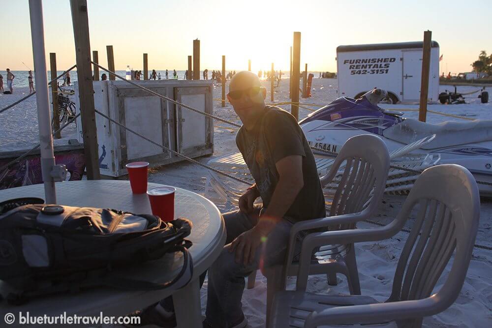 Randy at the Beach Pub