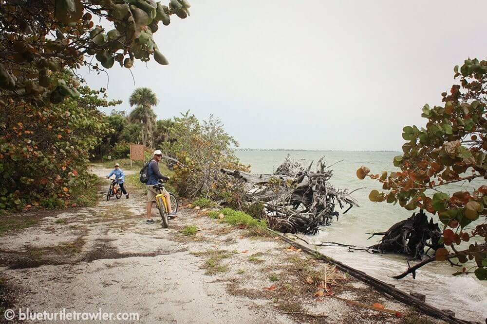 We biked to the north end of the island