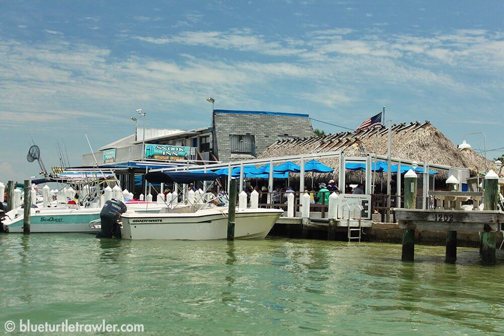 The famous Snook Inn, our lunch spot