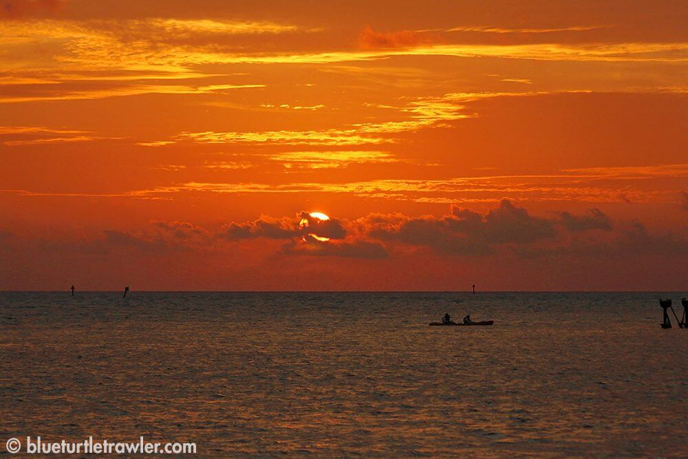 Sunset in the Dry Tortugas is beautiful!