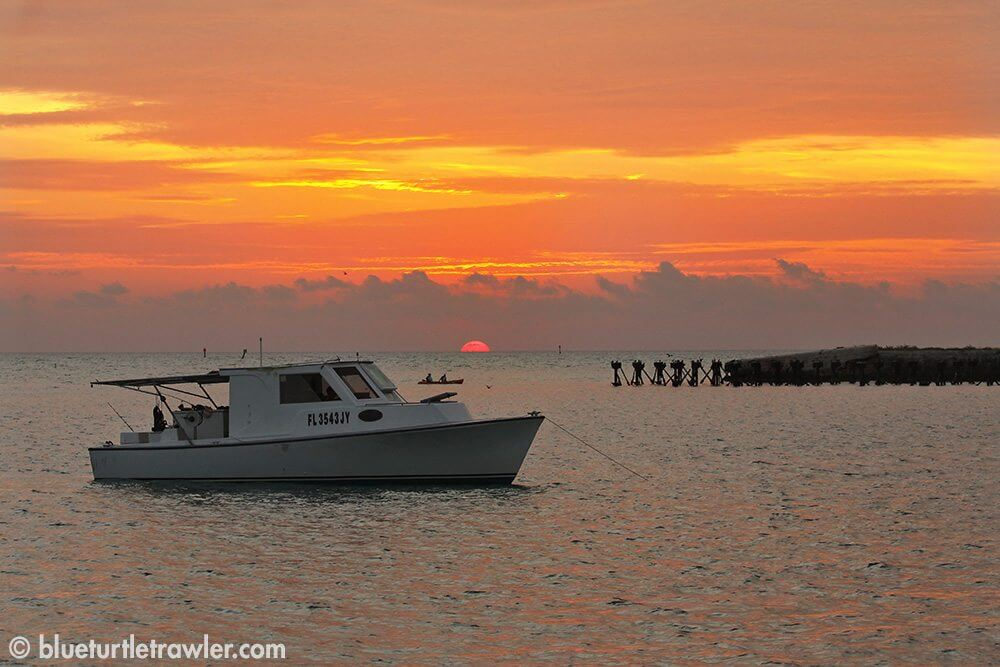 Sunset in the Dry Tortugas