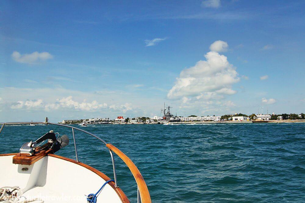 Arriving in Key West