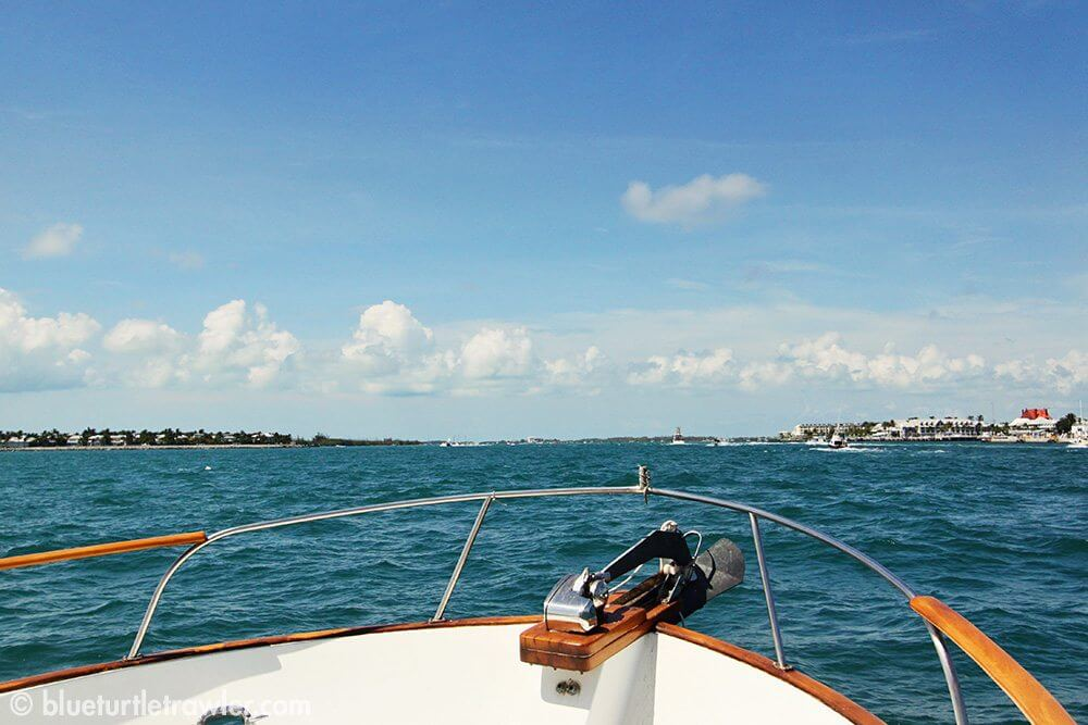 Heading into Key West from the Dry Tortugas