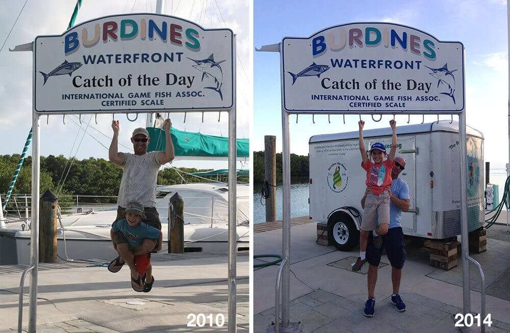 Burdines photo from 2010 and now, 2014