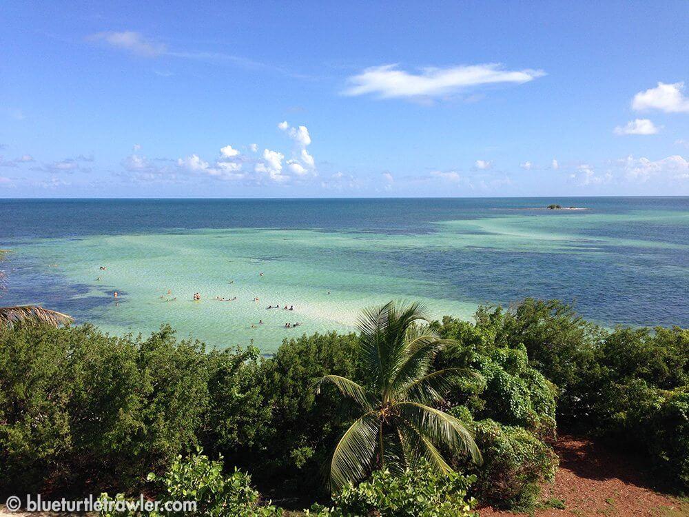 View from the bridge at Bahia Honda