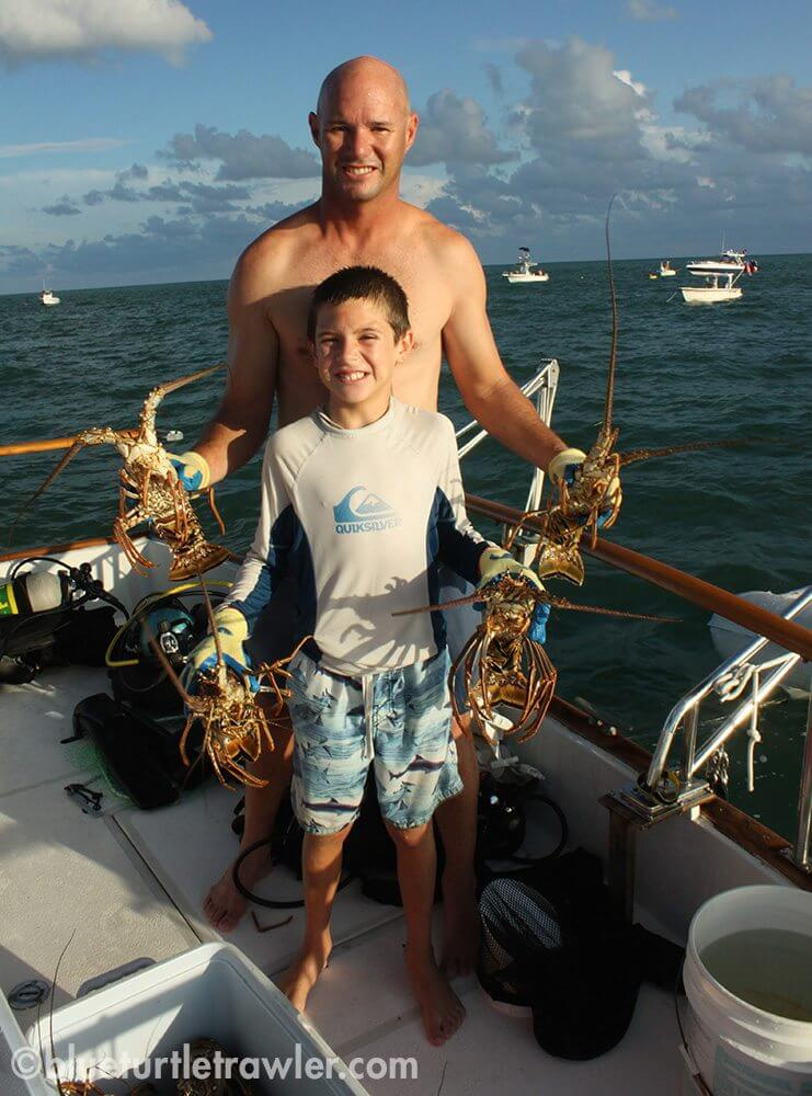 Randy and Corey with our catch