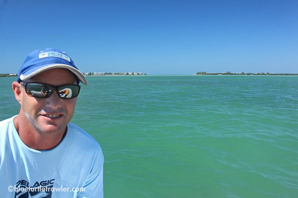 Randy with Redfish Pass behind him