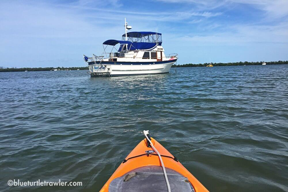 Kayaking to Cayo Costa