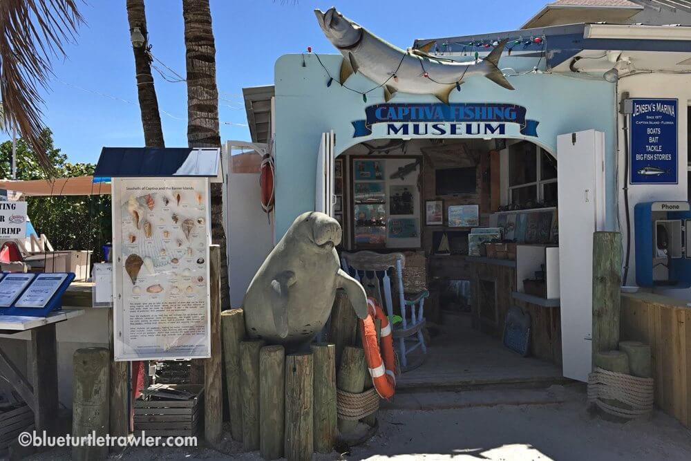 Captiva Fishing Museum at Jenson's Marina