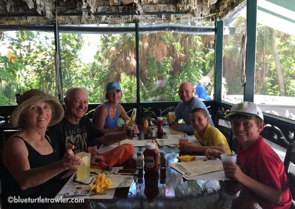 Lunch at Cabbage Key