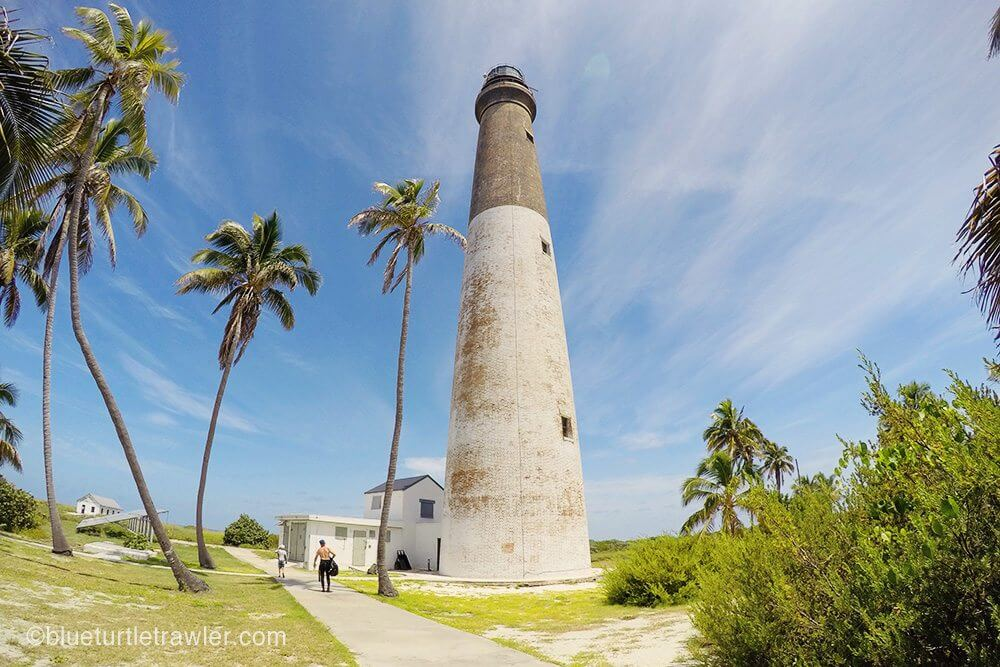 GoPro view of the lighthouse