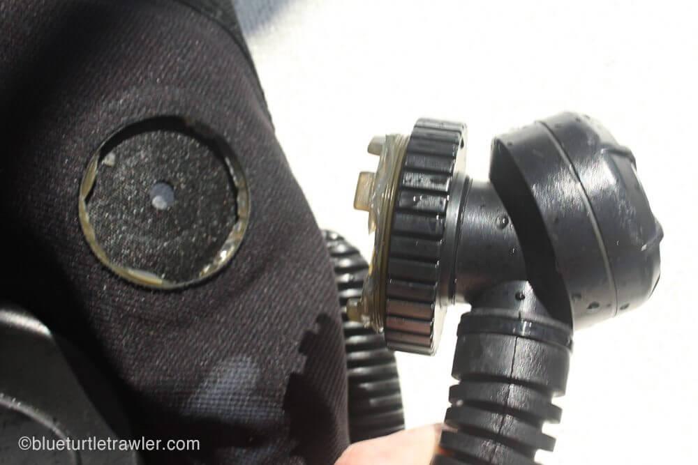 My BC inflator hose completely broke off