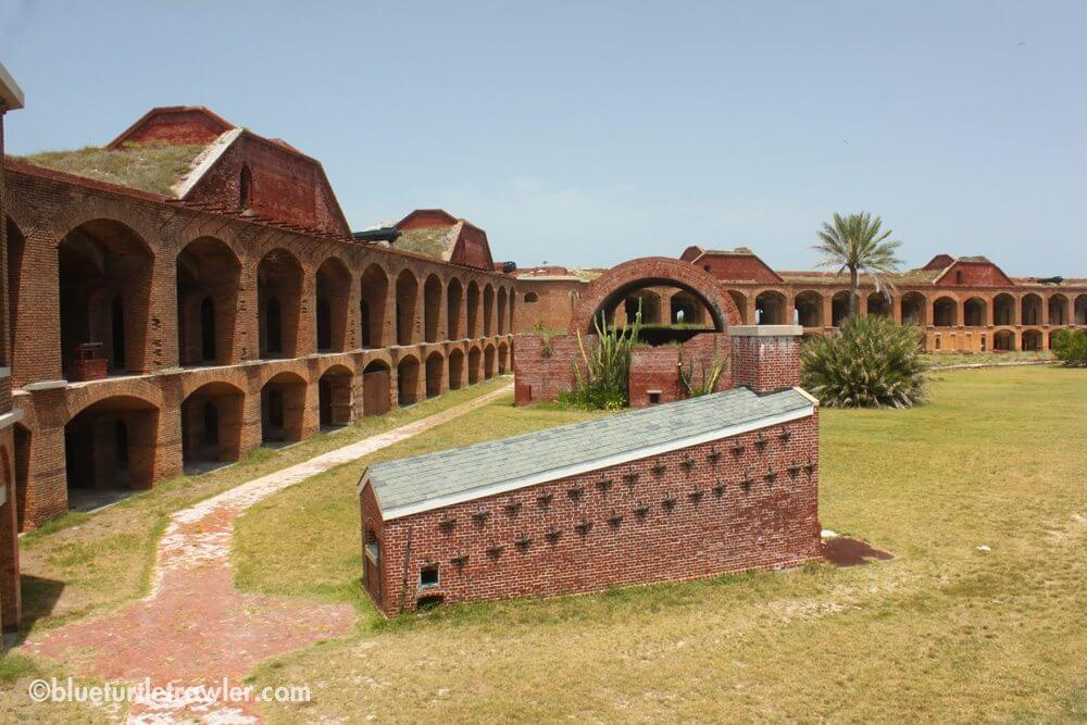 Fort courtyard view