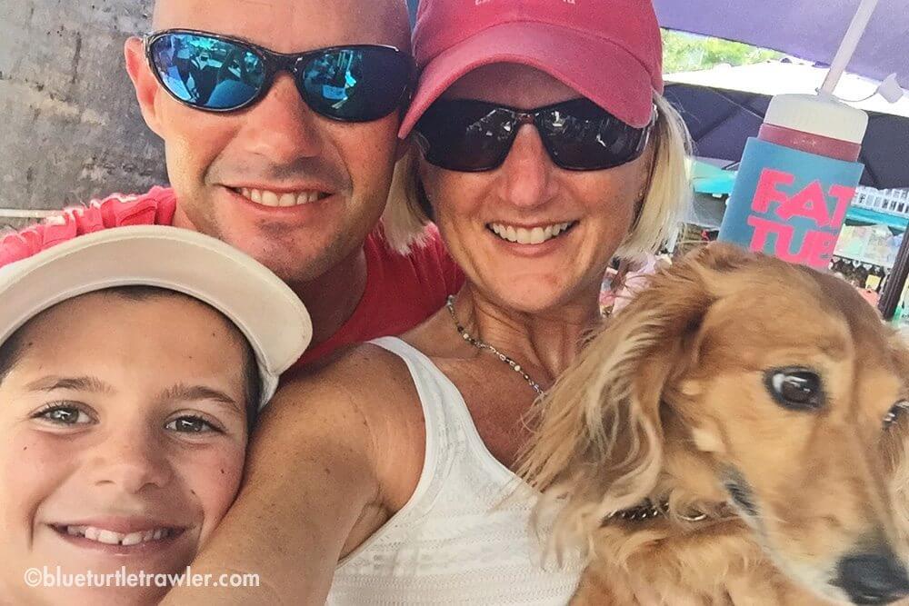 Key West selfie at The Flying Monkey