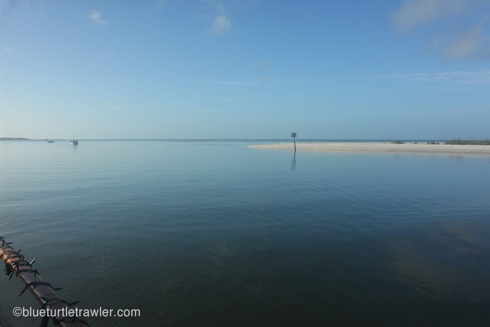 A very calm morning at Keewaydin