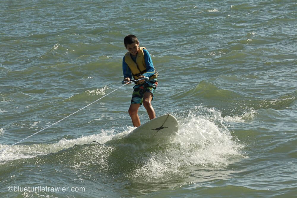 Catching some waves