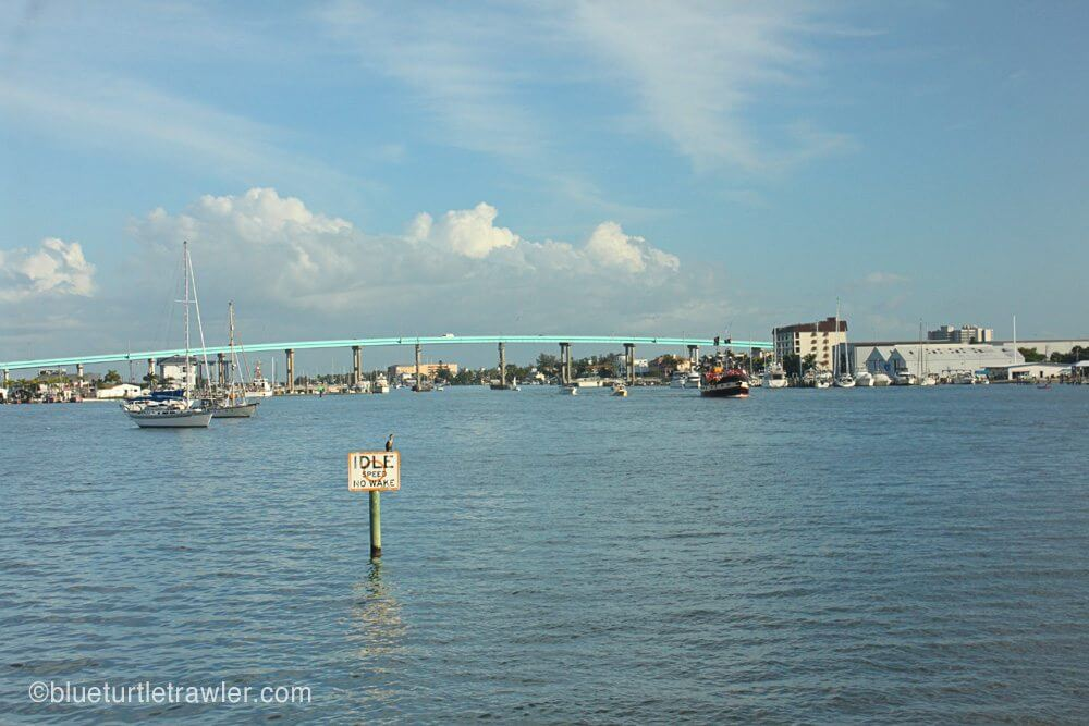 View of the Matanzas Bridge