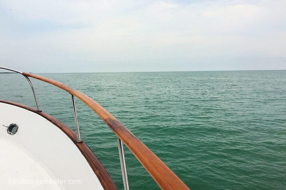 Nice calm seas