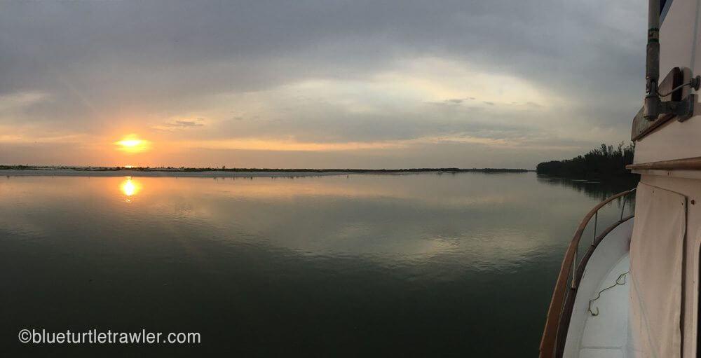 Sunset at Keewaydin