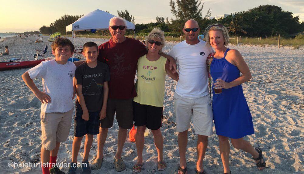 Sea Crazy and Blue Turtle crew