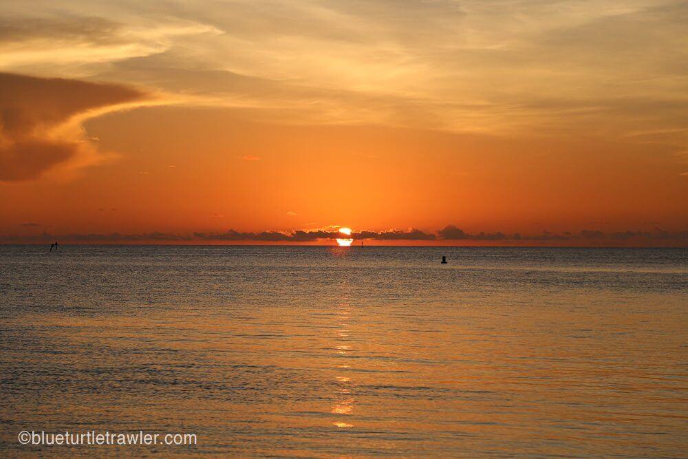 Beautiful Dry Tortugas sunset